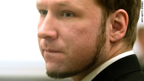 Anders Breivik was sentenced to 21 years in prison.