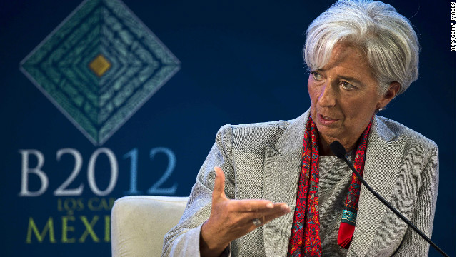 IMF chief Christine Lagarde has warned that the long-term measures being considered by EU leaders ahead of a summit next week were not enough.