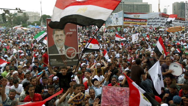 Egypt announcing election results Sunday