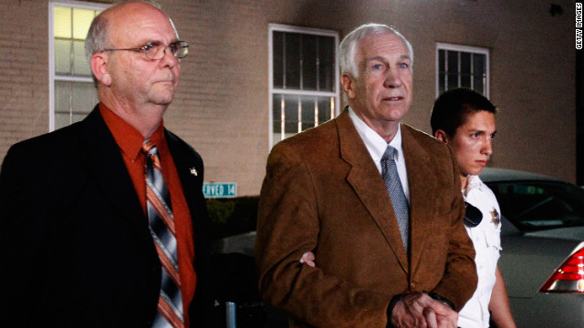 Lawyer: First Sandusky victim to settle