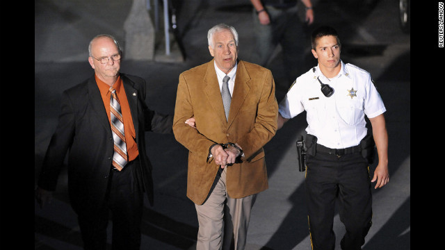 Sandusky's 'awkward' stare at victim