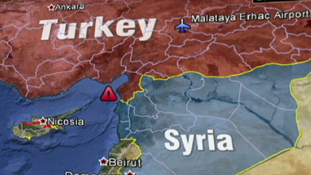 Syrian TV: Syria shot down Turkish jet