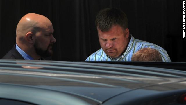 Listen to Matt Sandusky discuss alleged abuse