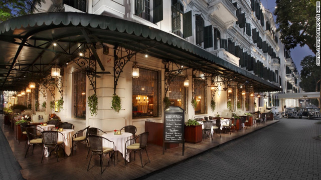 The Metropole Hanoi sheltered high-profile guests during the war.