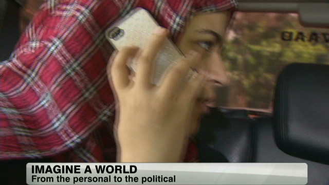 Woman who monitored Egypt's elections