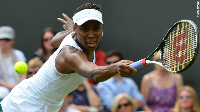 Williams lost in the opening round at Wimbledon for the first time since making her debut 15 years ago.