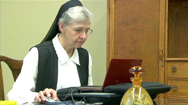 Facebooking for God: Nun recruits online