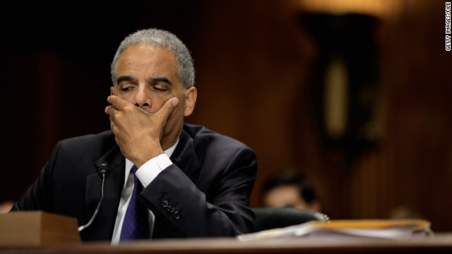 Attorney General Holder's contempt vote