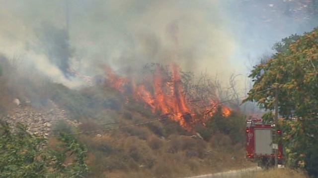 vo jerusalem brush fires _00001603