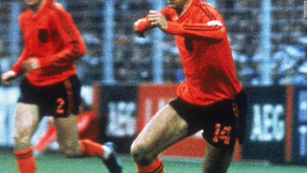 "Johan Cruyff's influence on football cannot be underestimated. A part of the Netherlands side that was said to play ""total football"" he then instigated a similar style of play when he was coach at Spanish club Barcelona. The fruits of that labor are now reaping rewards for the Catalan club, and the national team, who followed their lead."