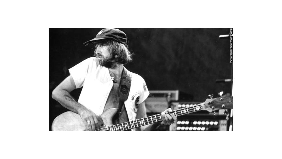Bass guitarist and band namesake John McVie.