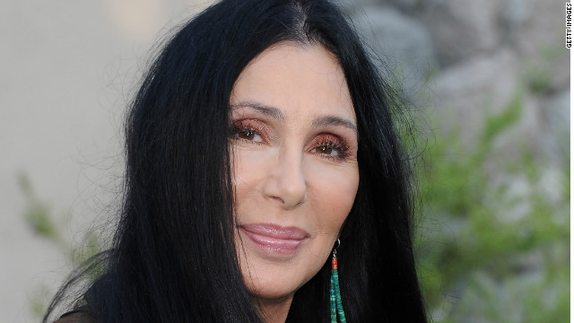 Cher is shown here arriving at the premiere of 'The Zookeeper' in 2011.