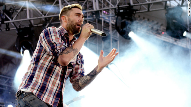 Adam Levine of Maroon 5 performs at 102.7 KIIS FM's Wango Tango at The Home Depot Center on May 12 in California.