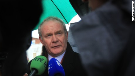 Martin McGuinness' resignation as Northern Ireland's deputy first minister triggered the snap election.