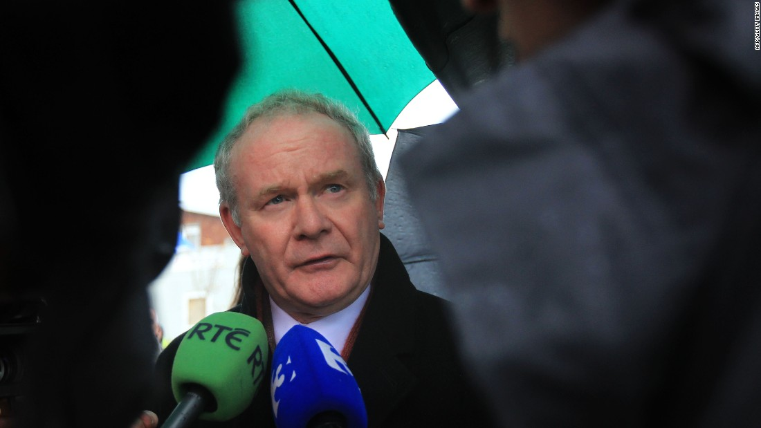 "Martin McGuinness, once a commander in the Irish Republican Army and a former deputy first minister of Northern Ireland, d<a href=""http://www.cnn.com/2017/03/21/europe/martin-mcguinness-dead/index.html"">ied Monday night</a> after a short illness, according to a statement released by the Sinn Fein party. He was 66.<br />"
