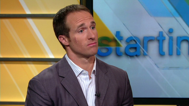 Brees helps kids play safe on the field