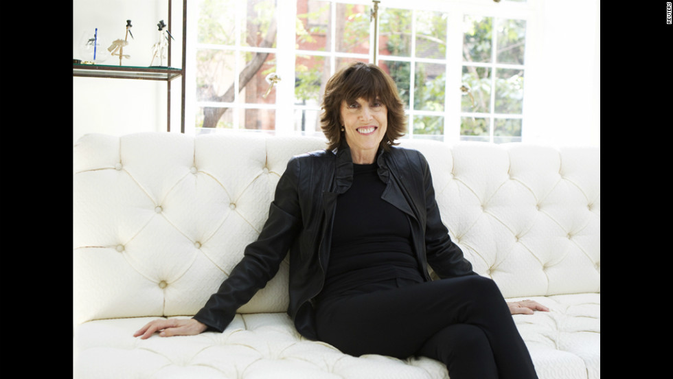 Writer and filmmaker Nora Ephron, pictured in her New York home in 2010, died at age 71 on Tuesday, June 26. She is known for her romantic comedies with strong female characters.