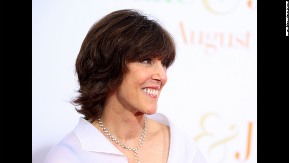 "In 2009, Ephron attends the ""Julie & Julia"" premiere in New York. She directed the movie, which earned Meryl Streep an Oscar nomination."