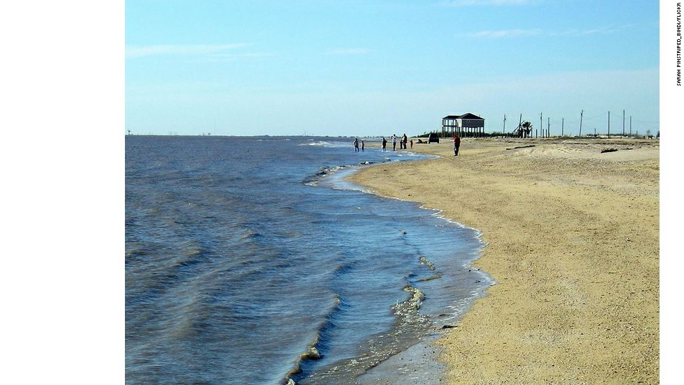 "Rutherford Beach in Cameron Parish, Louisiana, was also named  a ""Repeat Offender"" by the Natural Resources Defense Council."