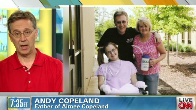Despite injuries, Copeland 'blessed'