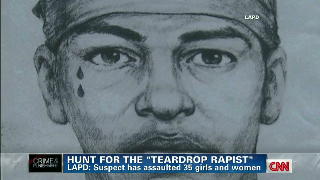 'Teardrop rapist'  returns after 7 years