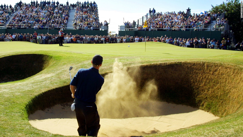 He said the key was learning to be disciplined and sticking to a gameplan when faced with the inevitable bunker hazards.