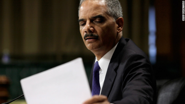 Republicans say Attorney General Eric Holder and the Justice Department are concealing details on Fast and Furious.