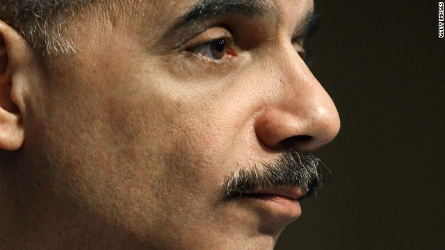 Eric Holder is the first Attorney General held in contempt