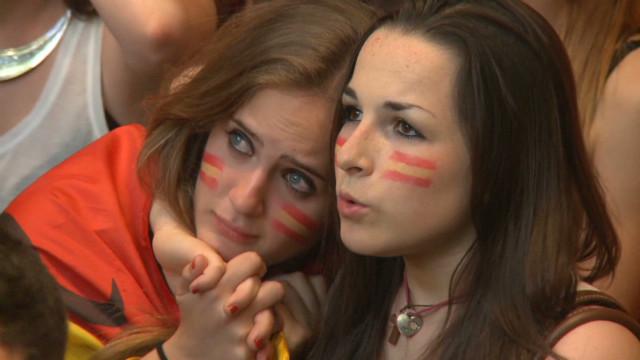 Penalties bring pleasure for Spain