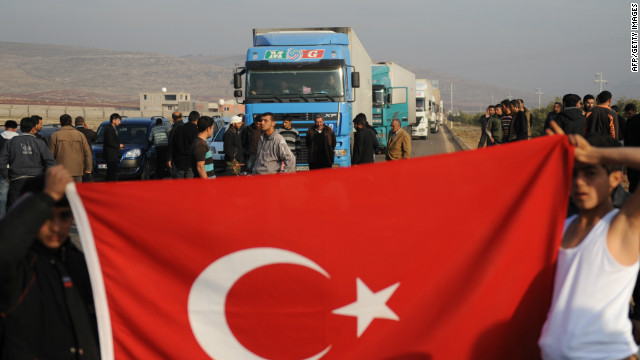 Border between Syria and Turkey