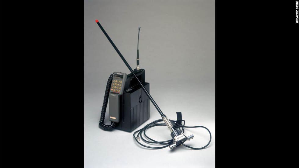 This mobile phone was marketed by Racal-Vodac Limited in 1997 to serve either as a portable unit or as a mobile unit installed in a car. The unit was sold with a battery charger and extension antenna for areas with poor reception.