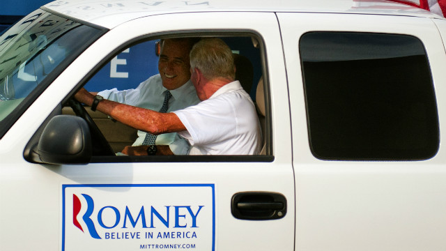 Romney buys supporter new truck
