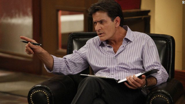 The return of Charlie Sheen