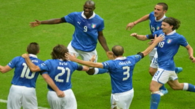 Italy advances to Euro 2012 final