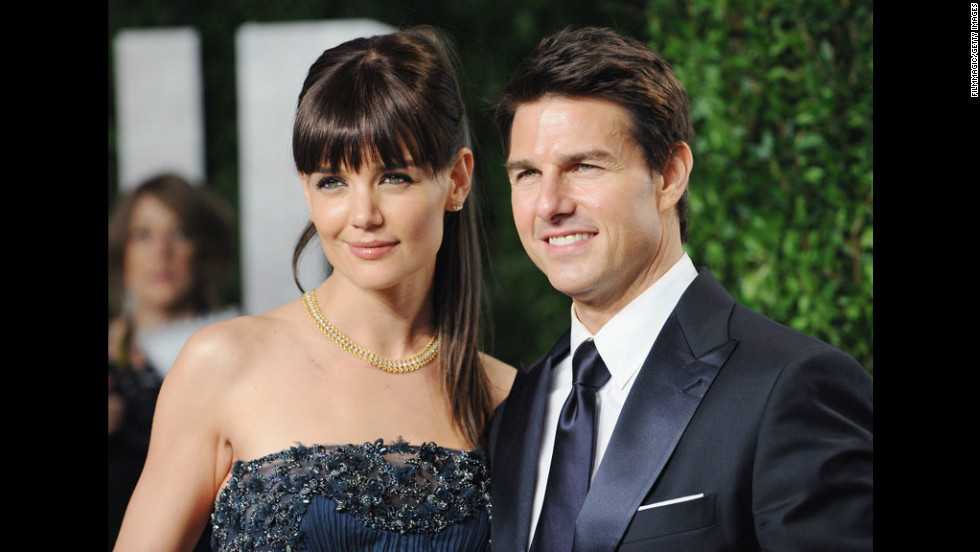 Cruise and Holmes arrive at the 2012 Vanity Fair Oscar Party at Sunset Tower in West Hollywood, California, in February. Tom Cruise and Katie Holmes are getting a divorce after five years of marriage, according to Cruise's attorney.