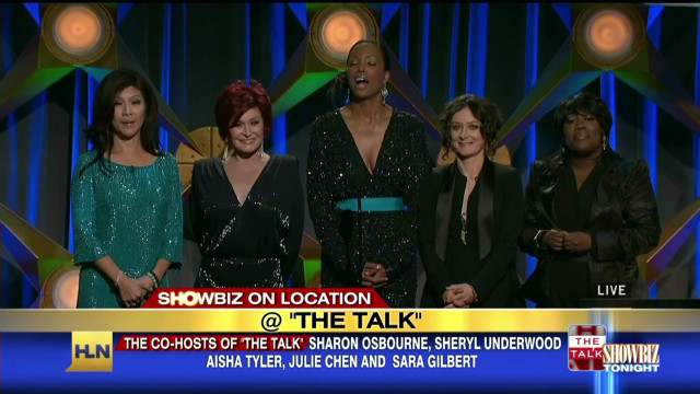 Showbiz Tonight On Location: Behind The Scenes with The Talk _00031807