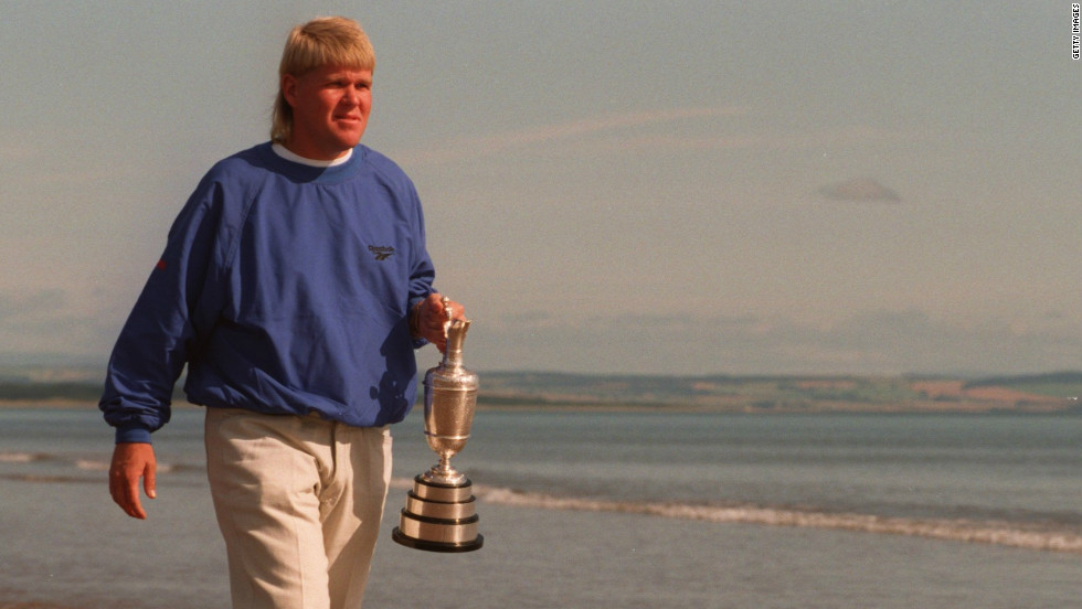 "Winners do not come much more unlikely than John Daly at the 1995 British Open. A recovering alcoholic, Daly was 66-1 to win at St. Andrews, the Scottish course known as ""the home of golf."" The American emerged victorious from a four-hole playoff with Italian Costantino Rocca to clinch his second major triumph."