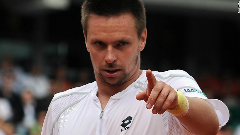 Nadal is the modern-day King of Clay, having won a record seventh French Open title this year to extend his run to 52-1. His only defeat at Roland Garros came as a huge shock, as he was beaten by Sweden's Robin Soderling (pictured) in the fourth round in 2009, opening the door for Roger Federer to win his first Paris major.