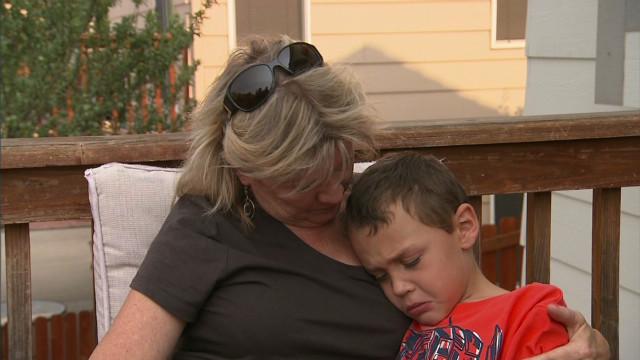 Wildfires: Grandma raising 4 loses home