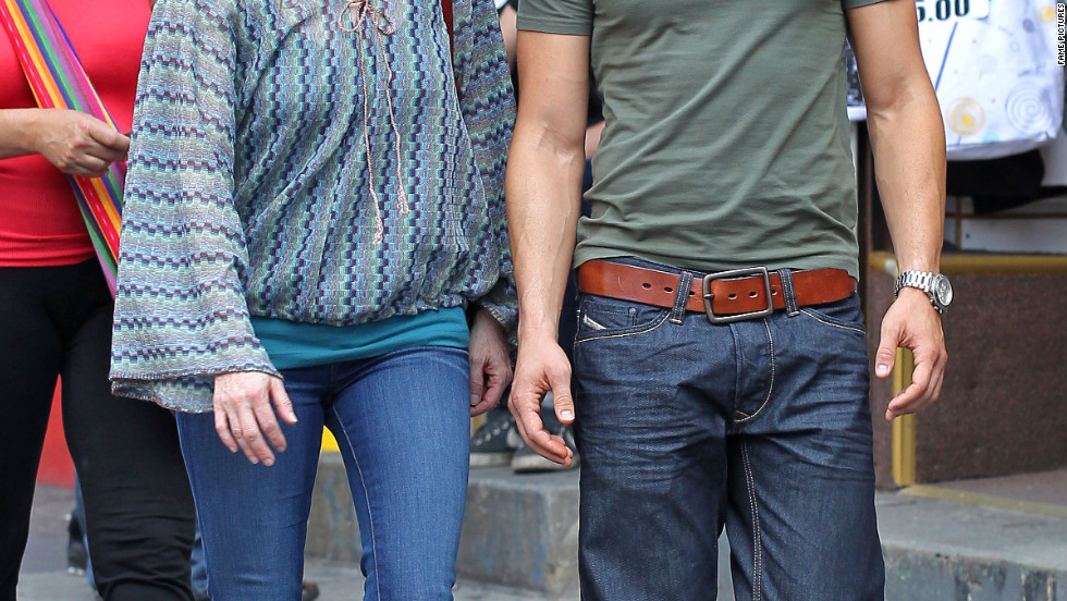 "Julianne Moore and Joseph Gordon-Levitt film ""Don Jon's Addiction"" in New York City."