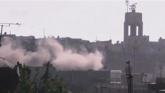 Blast shakes Syrian capital
