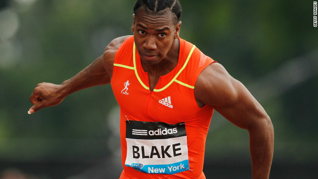 Yohan Blake will provide stiff opposition to Usain Bolt in the sprint events at the London Olympics.