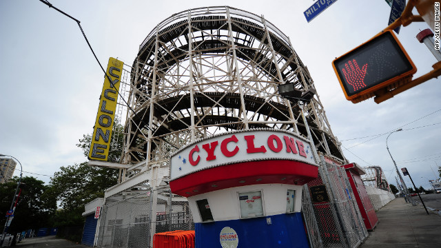 "The Cyclone ""has really stood the test of time,"" Johanna Zaki, marketing manager for Central Amusement International."
