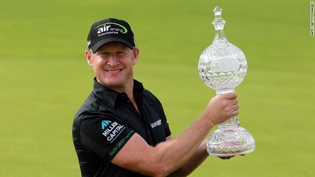 Jamie Donaldson won his first European Tour event at the 255th attempt on Sunday winning the Irish Open at Royal Portrush
