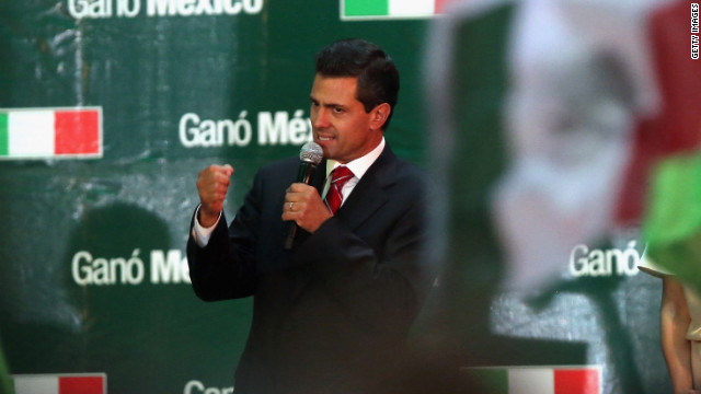 Peña Nieto commits to rebuild Mexico