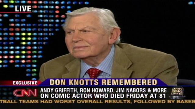 2006: Griffith, Howard recall their show
