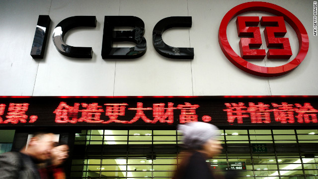 The Industrial Commercial Bank of China was the most profitable bank in the world last year
