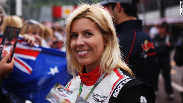 Spain's Maria de Villota is one of only two women currently contracted to a Formula One team.