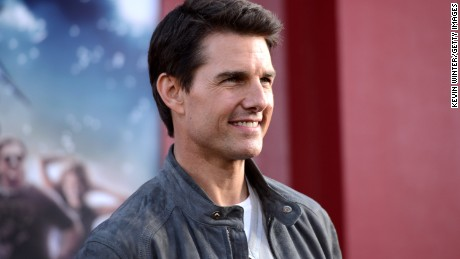 "Actor Tom Cruise arrives at the Hollywood premiere of the movie ""Rock of Ages"" on June 8."