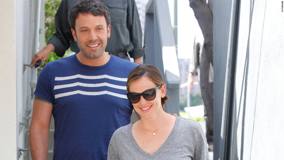 Ben Affleck and Jennifer Garner visit a friend in Santa Monica.